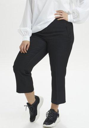 KCHENRIET  - Trousers - black deep