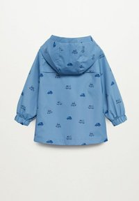 Mango - Waterproof jacket - blauw - 1