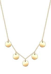 Elli - PLÄTTCHEN - Necklace - gold-coloured - 3