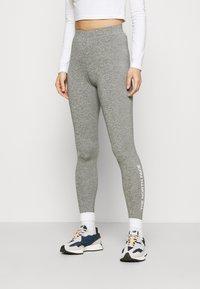 The North Face - ZUMU - Leggings - Trousers - medium grey heather - 0