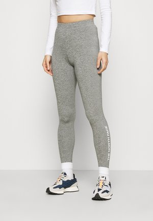 ZUMU - Leggings - Trousers - medium grey heather