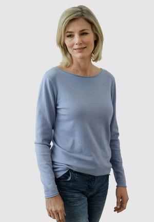 PULLOVER - Sweatshirt - rauchblau