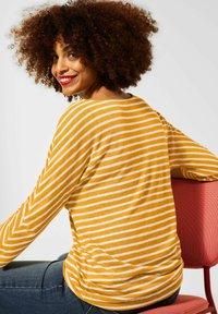Street One - Long sleeved top - sulphur yellow - 2