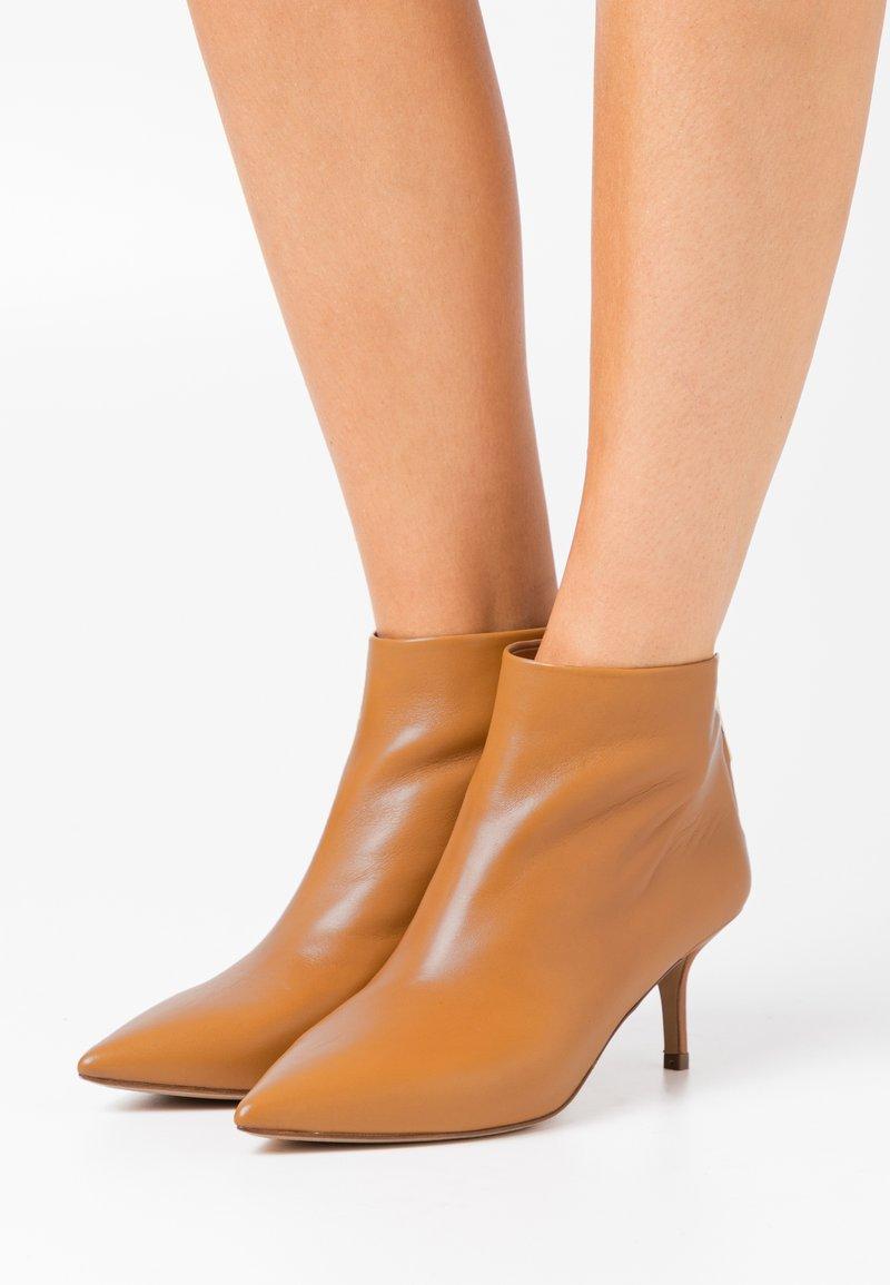 Pura Lopez - Ankle boots - chestnut