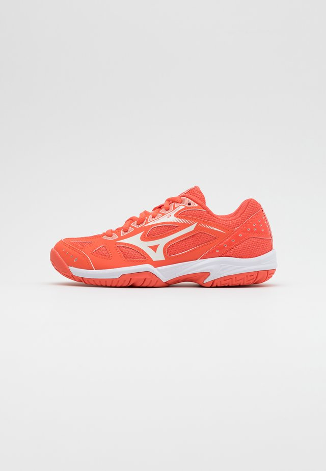 CYCLONE SPEED 2 - Scarpe da pallavolo - living coral/snow white/white