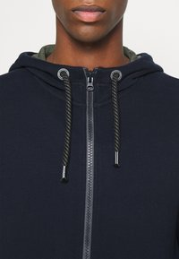 s.Oliver - LANGARM - Zip-up hoodie - dark blue - 3