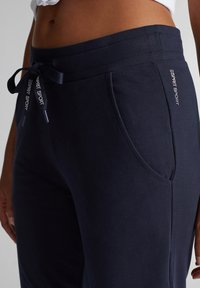 Esprit Sports - Tracksuit bottoms - navy - 2