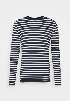 Jumper - off-white/navy