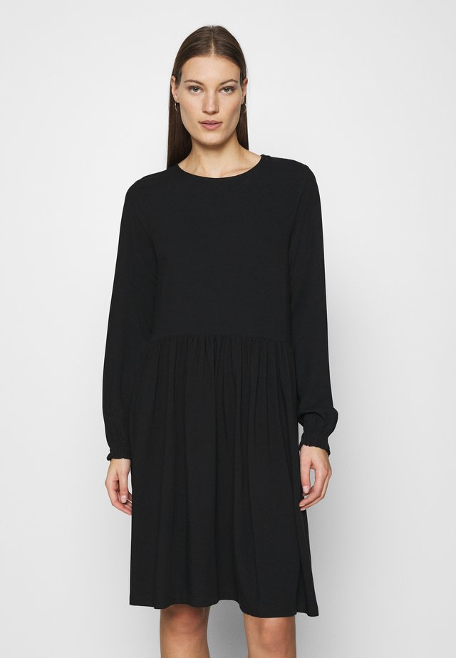 GIANNA DRESS - Korte jurk - black