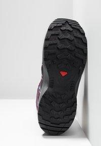 Salomon - XA PRO 3D WINTER TS CSWP - Winter boots - dark purple/potent purple/atlantis - 5