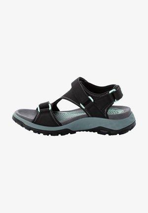 Walking sandals - black / grey