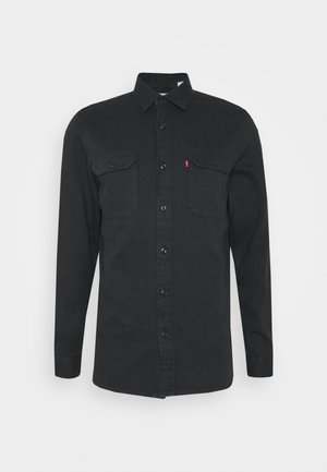 JACKSON WORKER UNISEX - Košile - black denim rinse