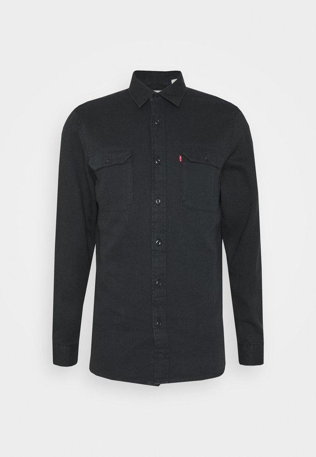 JACKSON WORKER UNISEX - Skjorte - black denim rinse