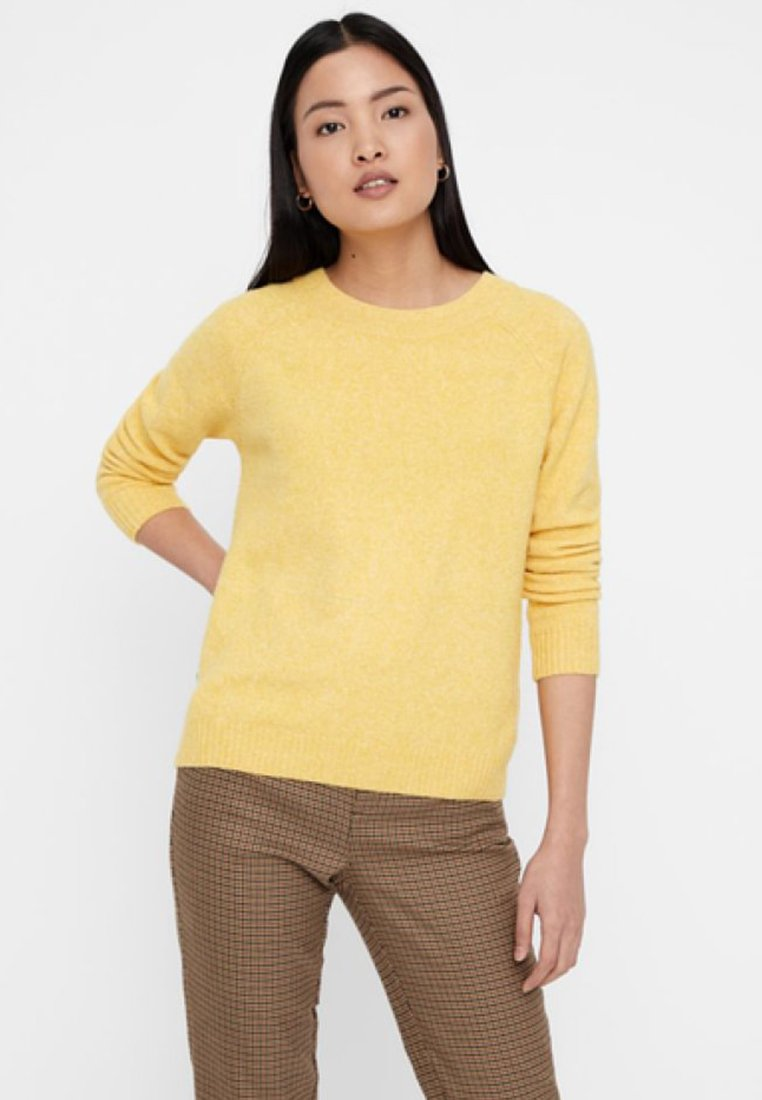 Vero Moda - VMDOFFY O NECK - Jumper - yellow