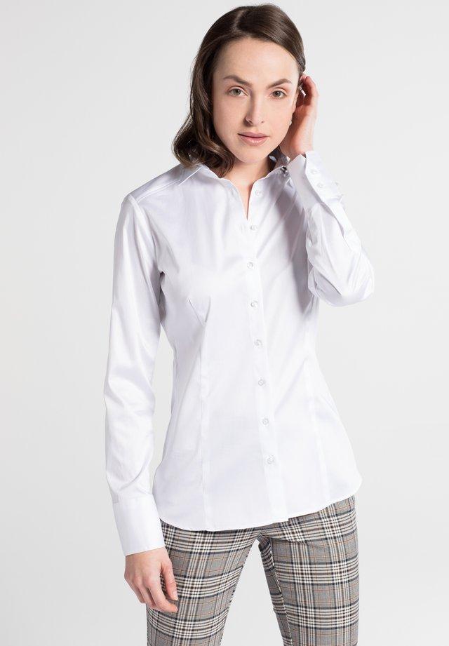 SLIM FIT - Button-down blouse - weiß