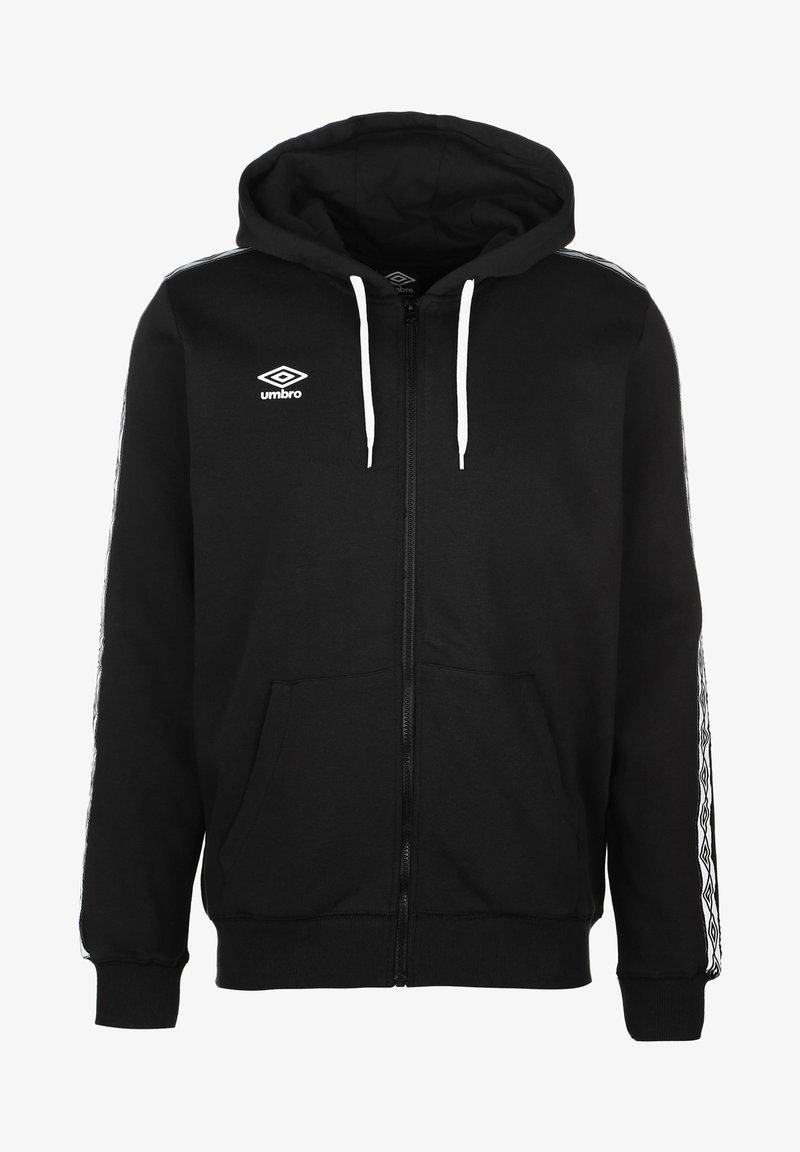 Umbro - Zip-up hoodie - black