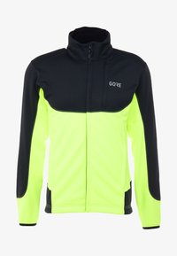 Gore Wear - THERMO TRAIL - Fleece jacket - black/neon yellow - 5