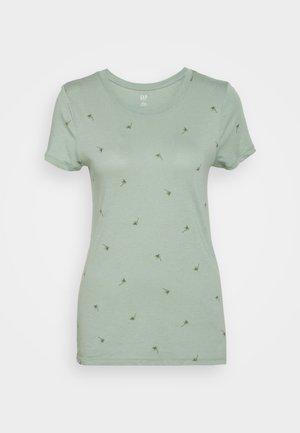 FAV CREW - Print T-shirt - palm tree green