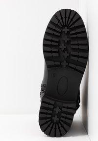 Dorothy Perkins - ALOHA BACK BUCKLE - Classic ankle boots - black - 6