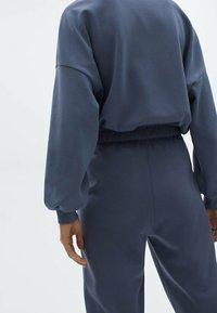 Massimo Dutti - Pantalon de survêtement - dark blue - 4