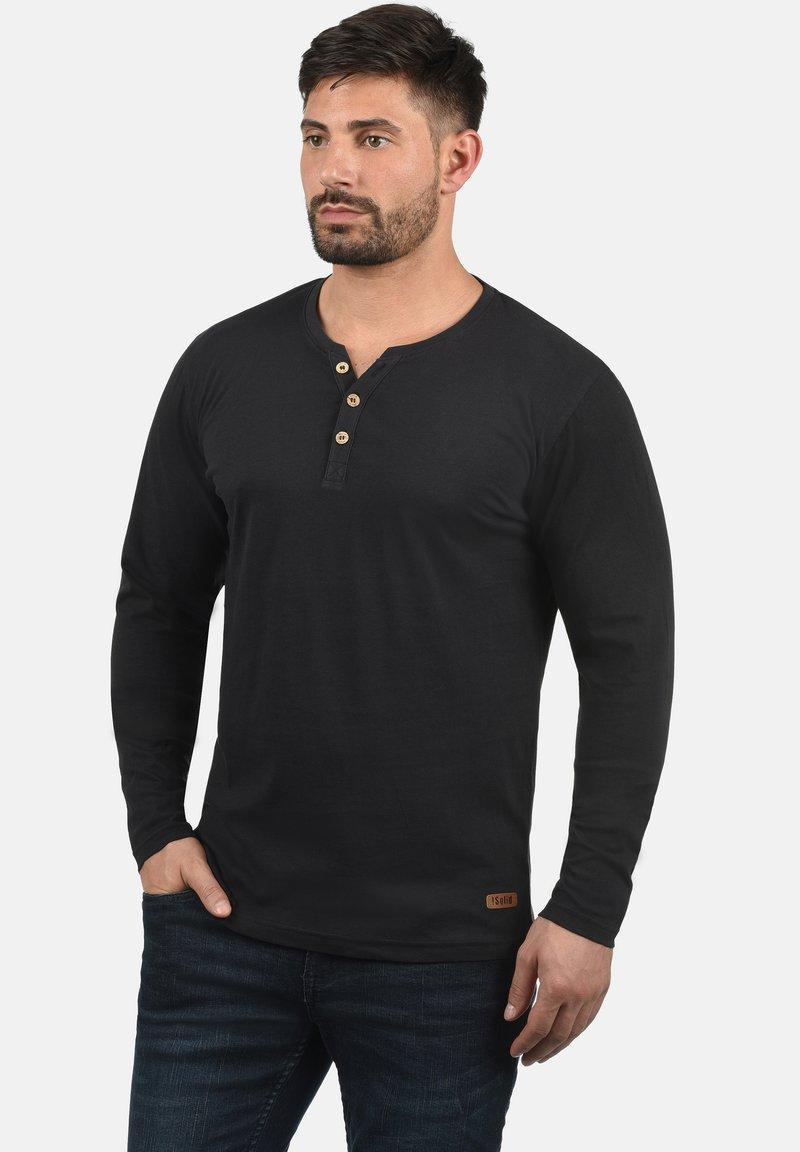 Solid - VOLKO - Long sleeved top - black