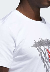 adidas Performance - DAME  - Print T-shirt - white - 4