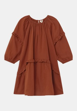 Day dress - brown medium