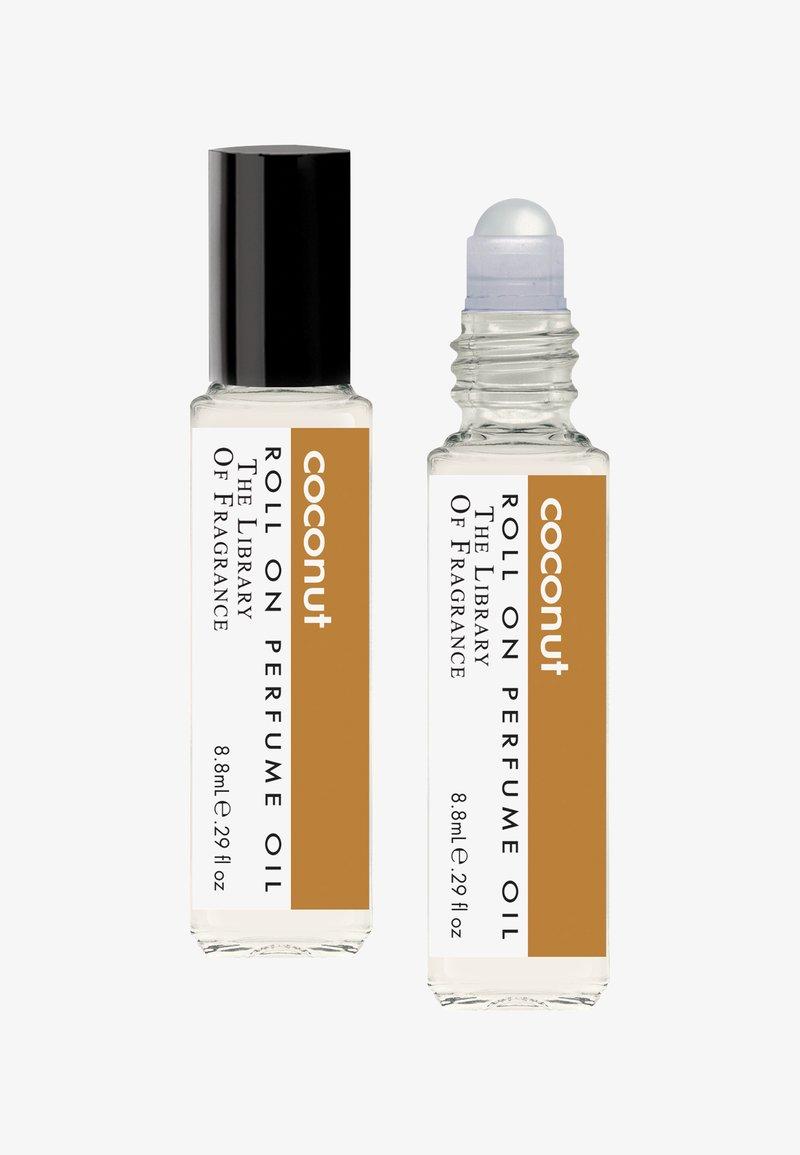 The Library of Fragrance - ROLL ON PERFUME  - Eau de Parfum - coconut