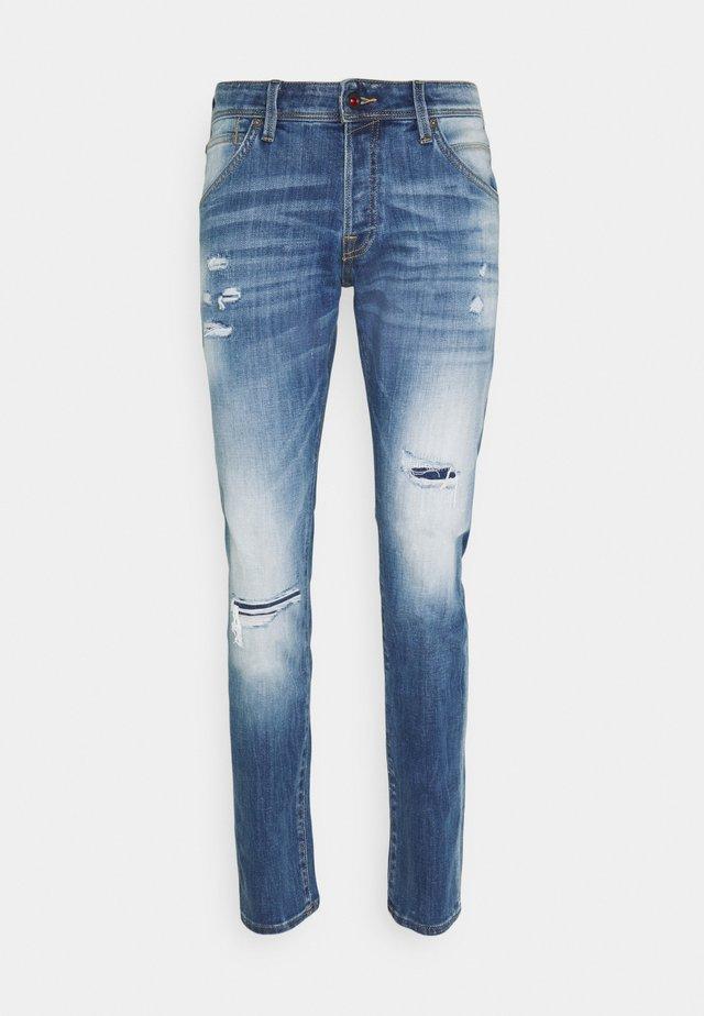 JJIGLENN JJFOX - Jeans fuselé - blue denim