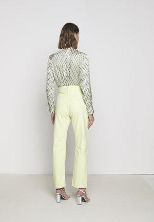 90'S - Straight leg jeans - limoncello