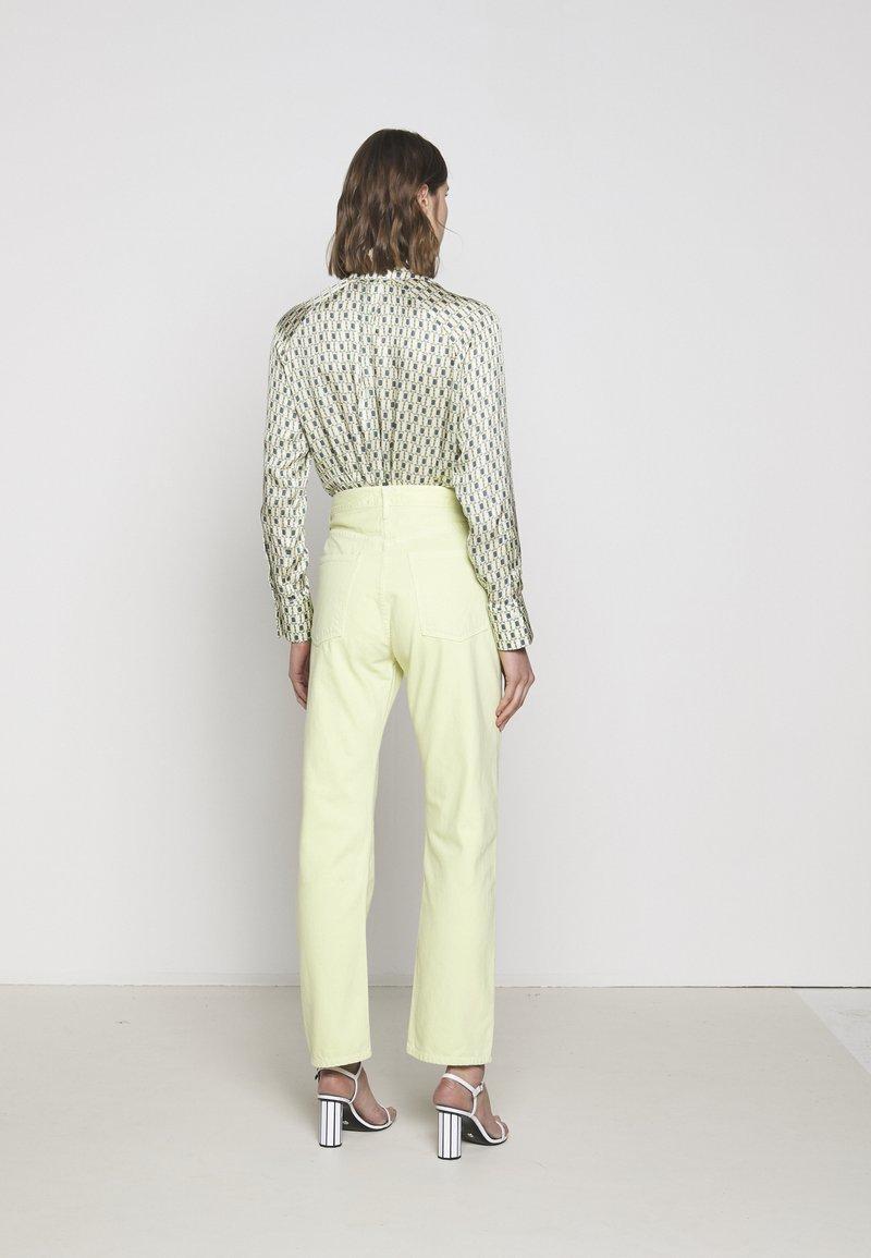 Agolde - 90'S - Straight leg jeans - limoncello