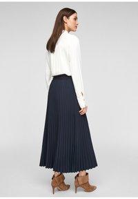 s.Oliver - A-line skirt - blue - 2