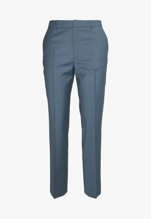 EMMA CROPPED COOL TROUSER - Kangashousut - blue grey