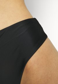 We Are We Wear - SELIN HIGH WAIST THONG - Bikini bottoms - black - 4