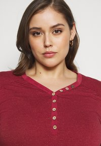 Ragwear Plus - PINCH - Long sleeved top - red - 3