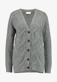 Vila - Cardigan - medium grey melange - 3