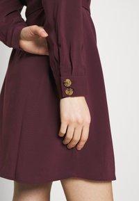 Vero Moda - VMCOCO DRESS  - Shirt dress - winetasting - 3