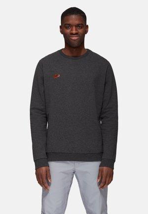 Sweatshirt - black melange mammut