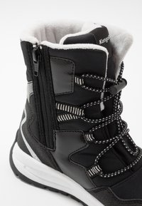 KangaROOS - K-LUCKY RTX - Lace-up boots - jet black/silver - 2