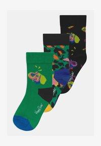 Happy Socks - KIDS ELEPHANT LEO 3 PACK UNISEX - Socks - multi-coloured - 0
