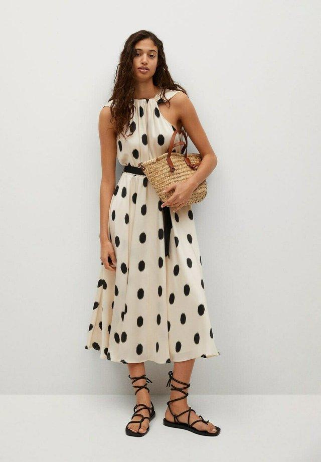 Vestido informal - cremeweiß