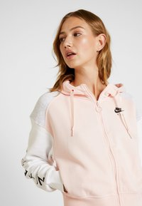 Nike Sportswear - Zip-up hoodie - echo pink/birch heather/white - 3