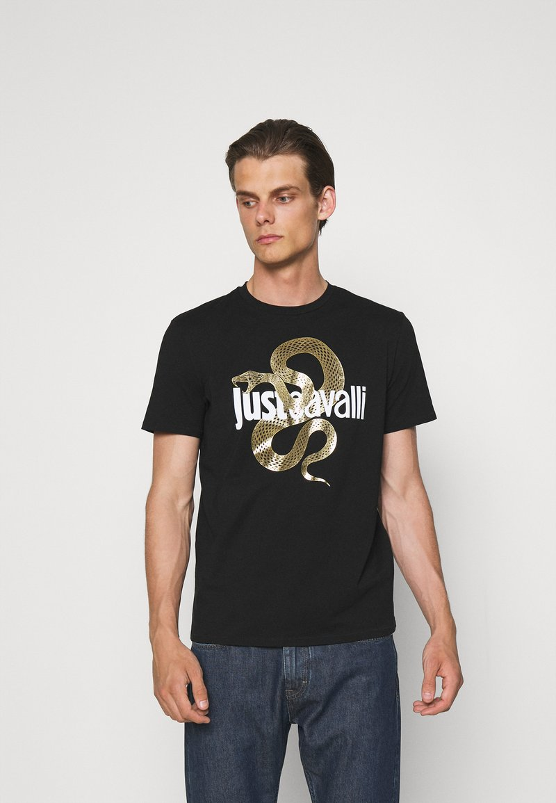 Just Cavalli - T-shirt con stampa - black