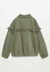 Mango - EDGE8 - Denim jacket - khaki - 1