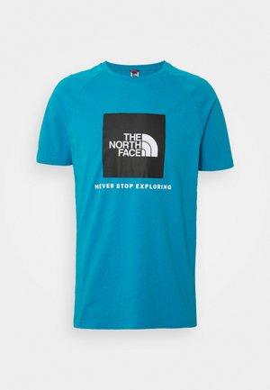 T-Shirt print - meridian blue