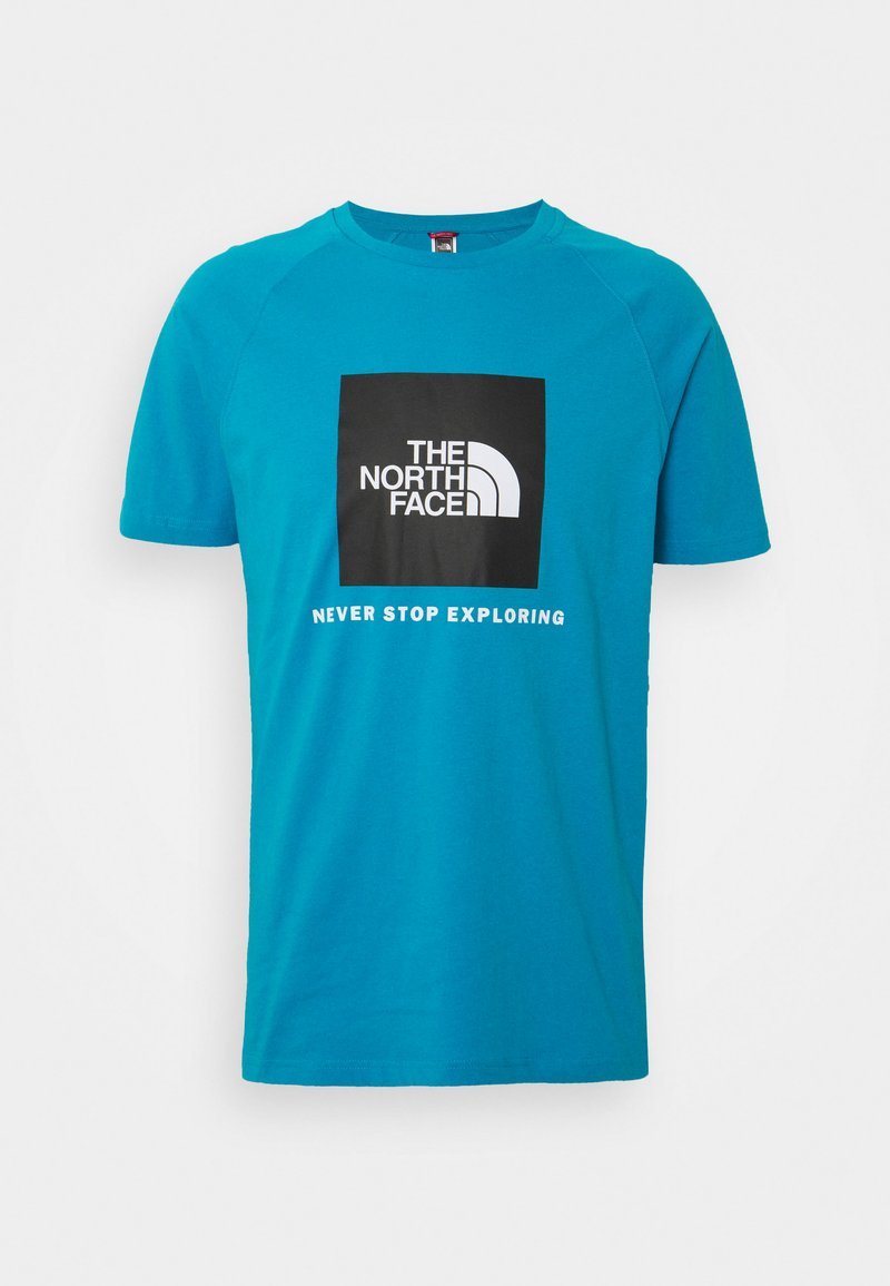 The North Face - T-shirt med print - meridian blue