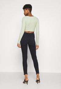 American Eagle - Slim fit jeans - black - 2