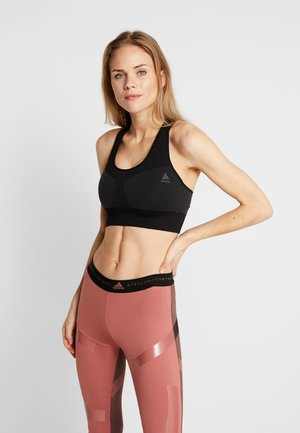 SPORTS BRA SEAMLESS MEDIUM - Sports bra - black