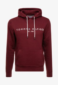 Tommy Hilfiger - LOGO HOODY - Sweat à capuche - red - 4