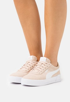 CARINA - Sneakers laag - shifting sand/white
